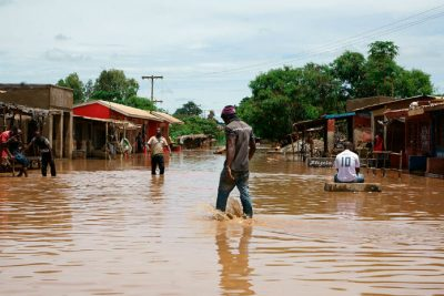 Flooding in Malawi Image: WaterAid/ Dennis Lupenga
