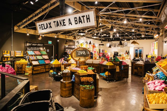 Lush's flagship Oxford Street store