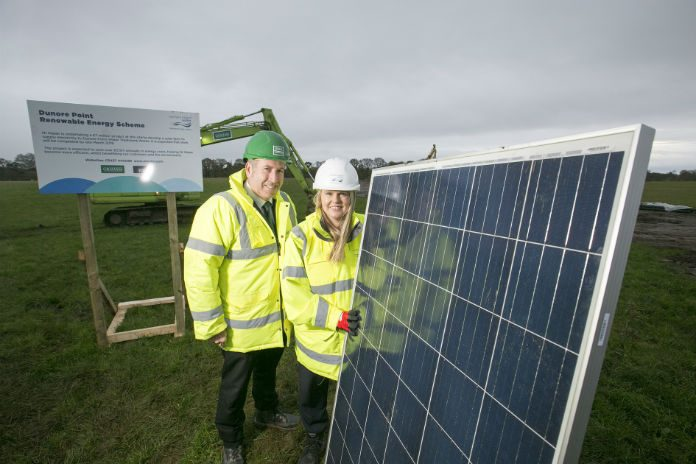 NI Water launches major solar energy scheme
