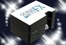 New Ocean FX spectrometer offers higher acquisition speed for light measurement