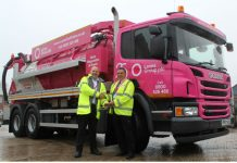 Lanes 25th anniversary lorry handover